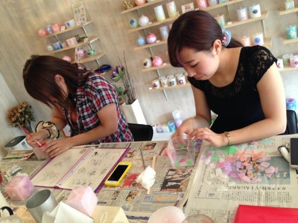 名古屋キャンドル作り体験