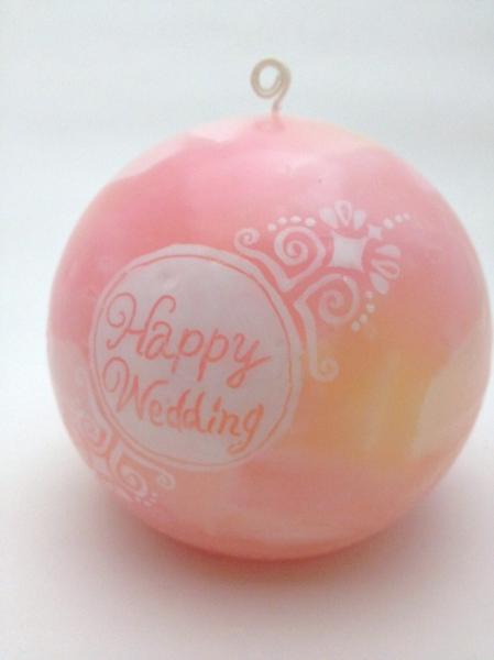 結婚式で使用!持ち込みキャンドル
