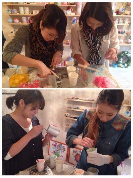 キャンドル作り体験@名古屋