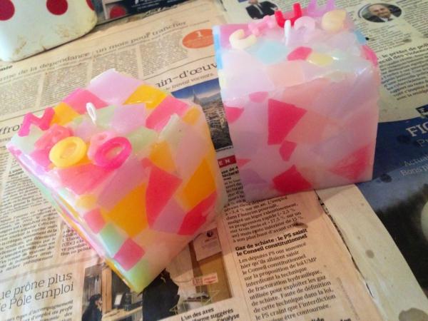 お友達と☆手作りキャンドル作り体験☆