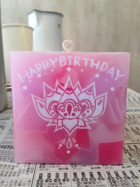 お友達のお誕生日プレゼントに、名前入りの可愛いキャンドルをプレゼントしてみてください★