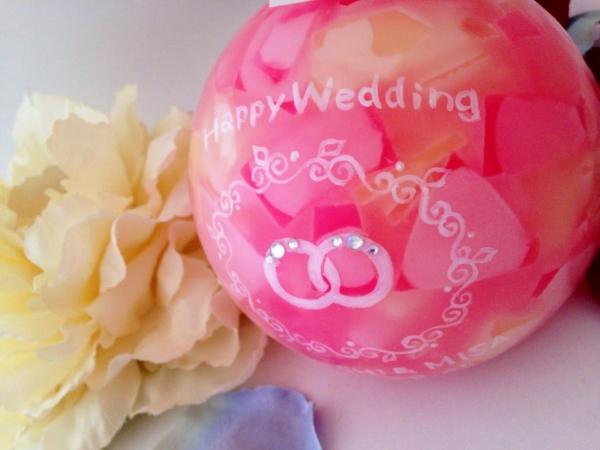 職場の方の結婚祝いに☆可愛いリングのデザインのキャンドルを!
