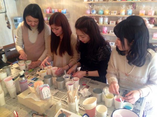 当日予約可!名古屋でキャンドル作りを体験してみたい方☆