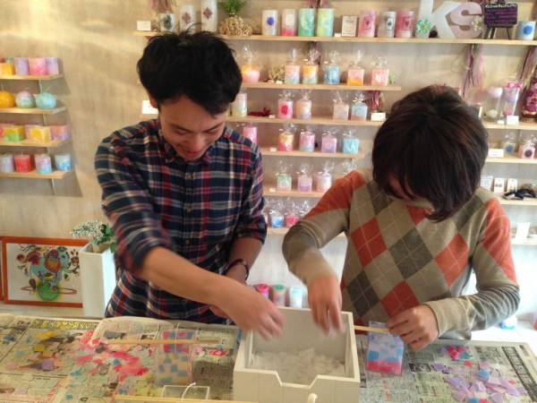 名古屋のキャンドル作り教室