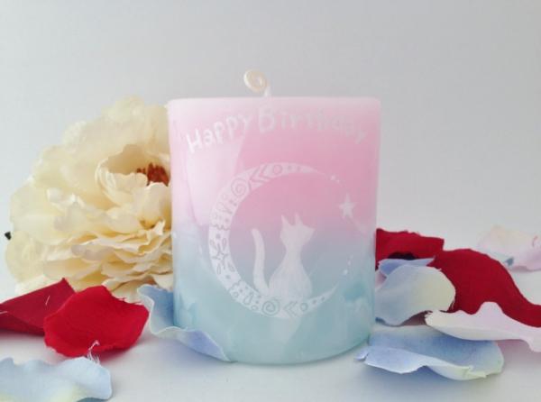 お誕生日プレゼントに☆アロマキャンドルをプレゼントが大人気です!