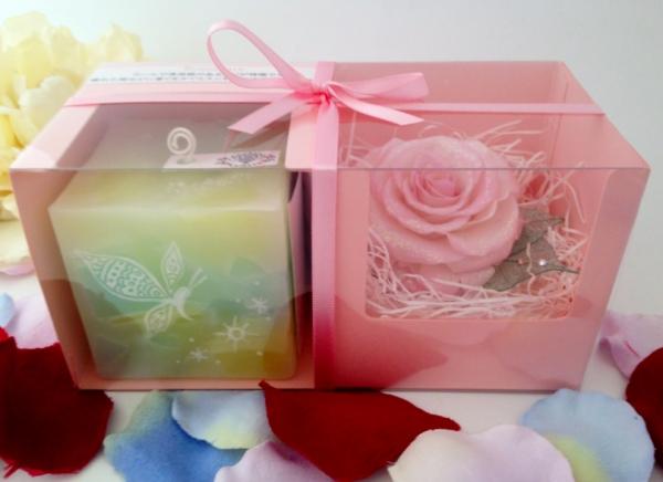 義母への母の日プレゼントにアロマキャンドルが選ばれています☆