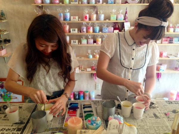愛知県で流行り始めています★キャンドル作り体験でオリジナルキャンドル作りを体験してみてください★
