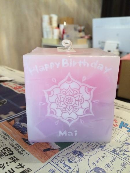女性へのお誕生日プレゼントに人気のアロマキャンドル★
