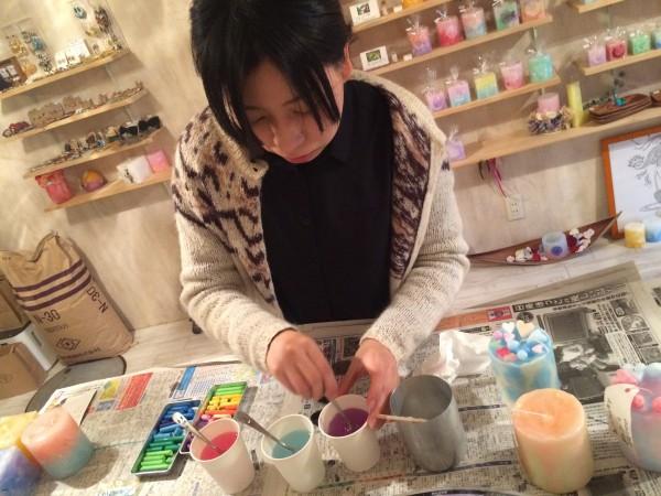 もの作りが好きな方に!キャンドルを手作りしてお気に入りの作品を作ってみてください!