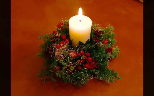 クリスマスの過ごし方は、アロマキャンドルを灯して贅沢なひとときを♡