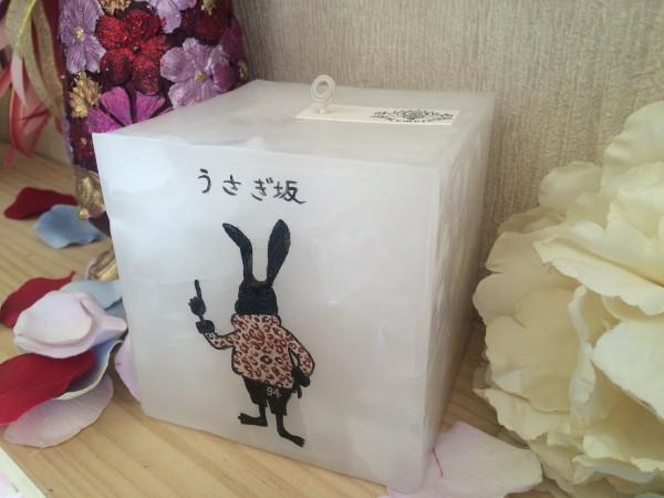 長崎県のお客様より、お店のオープン祝いの贈り物としてお店のロゴ入りキャンドルをご注文いただきました♪