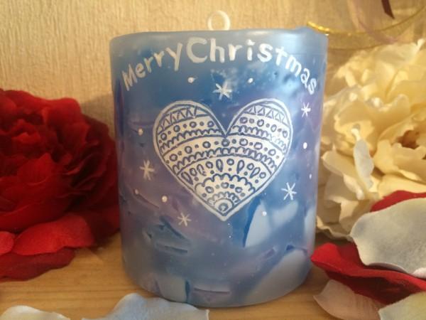 2015年のクリスマスプレゼントはコレ!可愛いイラストが入ったオリジナルのアロマキャンドルを♡