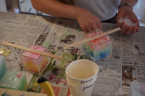 可愛いキャンドルを名古屋で手作りしませんか♥
