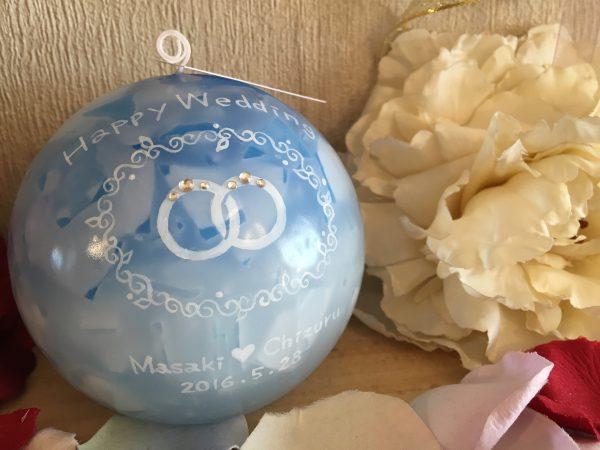 結婚記念日、友人への結婚式のウェルカムアイテム作り、キャンドルリレー用キャンドル、結婚祝いのプレゼントなどなど、たくさんのブライダルアイテムキャンドルのご注文をいただいております♪