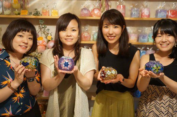 名古屋でトルコランプ作りしませんか?